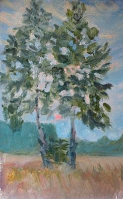 Alexey RusAC. Evening birch
