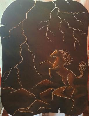 Alik Khazgaleev. Thunderstorm