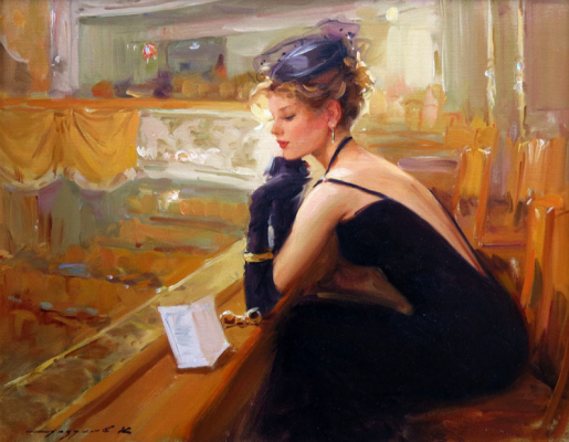 Constantine Razumov. In the theatre