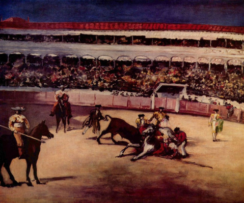 Edouard Manet. Bullfighting