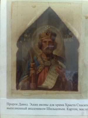 Павел Саввич Шильцов. Пророк Давид