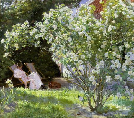 Peder Severin Kreyer. Roses
