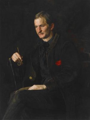 Томас Икинс. Студент живописи Джеймс Райт
