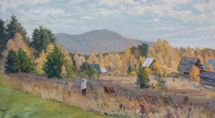Eugene Buchne. Autumn days