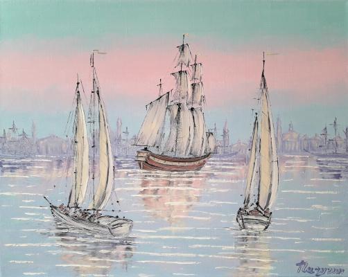 Sergey Vladislavovich Pichugin. Sailing regatta
