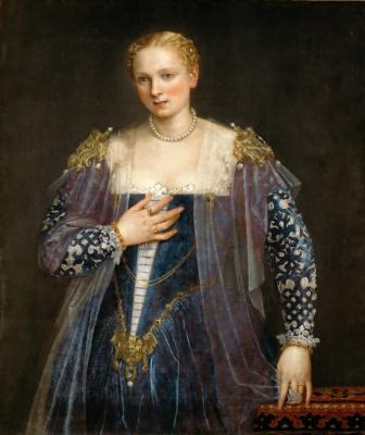 Paolo Veronese. Beauty Nani. Portrait of a venetian woman