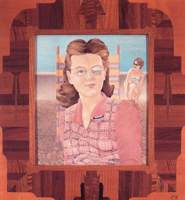 Кит Уильямс. Портрет женщины