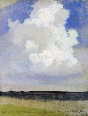 Isaac Levitan. Cloud
