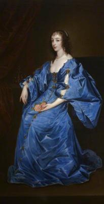 Антонис ван Дейк. Генриетта Мария Французская, королева Англии