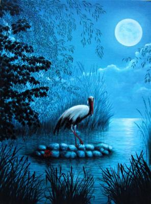Alex Visiroff. Moon stork