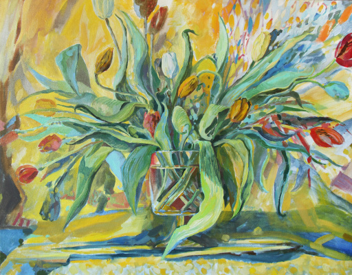 Свет Сухова. Мартовские тюльпаны