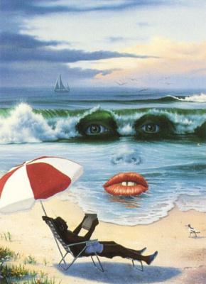 Джим Уоррен. Пляж
