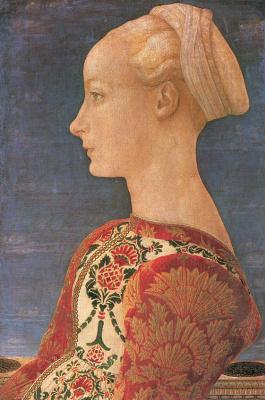 Антонио Поллайоло. Женский профиль