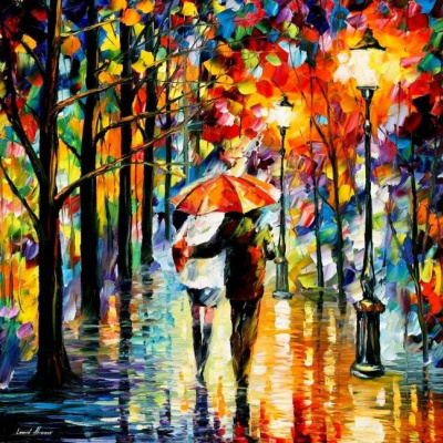 Leonid Afremov. Rain