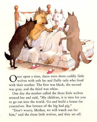 Хелен Охенбуру. Три маленьких волчонка и большой плохой свин 7