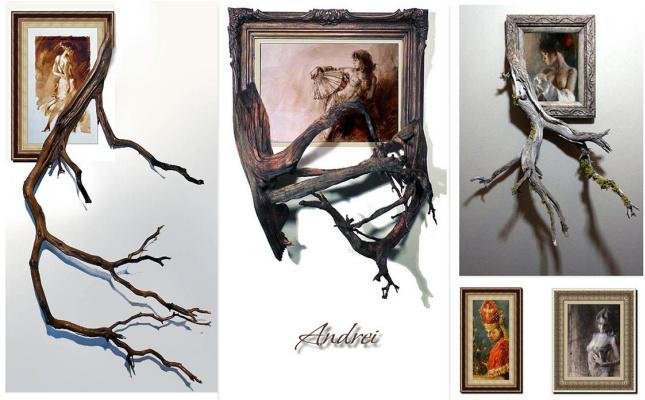 Andrei Krioutchenko. Wild frameworkS Mes tableaux dans la présentation un peu spéciale