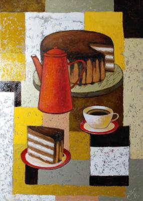 Svetlana Konstantinova. Chocolate cake