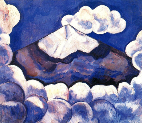 Marsden Hartley. Clouds