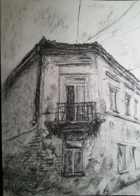 Балкон в Ужуписе