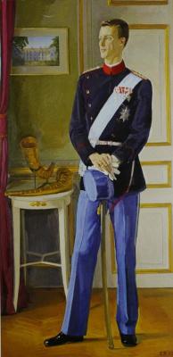 Дмитрий Дмитриевич Жилинский. «Портрет Принца Йоакима Датского» 1993-1995