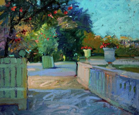 Alexander Valerievich Sushchin. Luxembourg Garden. Paris. France.