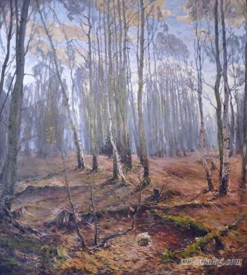 Sergey Anatolyevich Kostylev. Late autumn