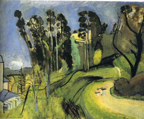 Henri Matisse. The Montalban. Landscape
