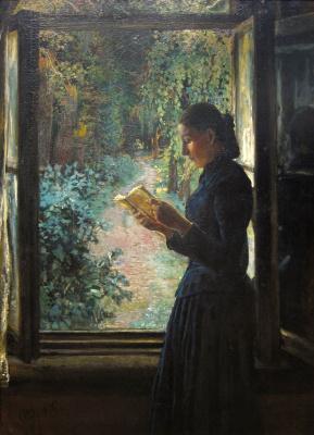 Nikolai Nikolaevich Ge. Portrait Of Natalia Ivanovna Petrunkevich