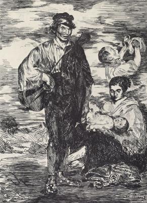Edouard Manet. Gypsies