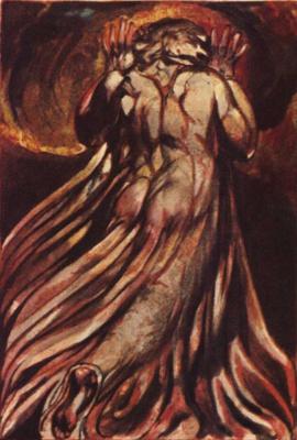 William Blake. Network religion. The first book Urizen