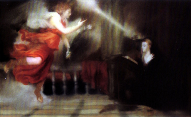 Gerhard Richter. The Annunciation