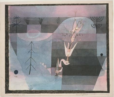 Paul Klee. Flower