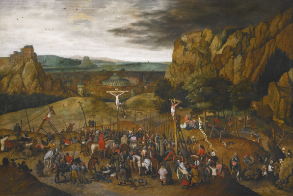 Peter Brueghel The Younger. Calvary