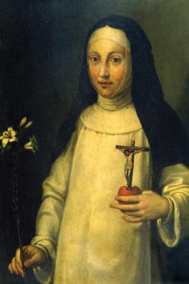 Sofonisba Anguissola. Saint Lucia