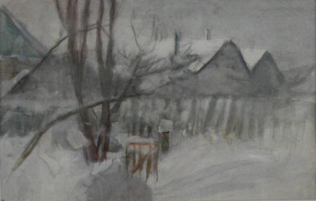 Виктор Семенович Сорокин. Warm day