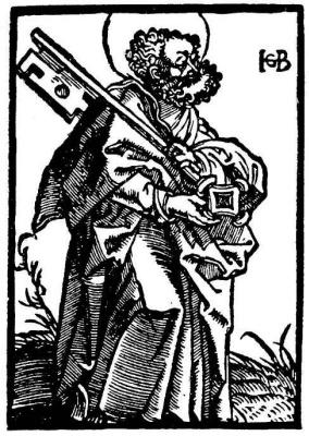 Hans Baldung. Saint Peter
