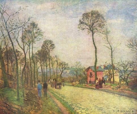Camille Pissarro. Street in Lovesee
