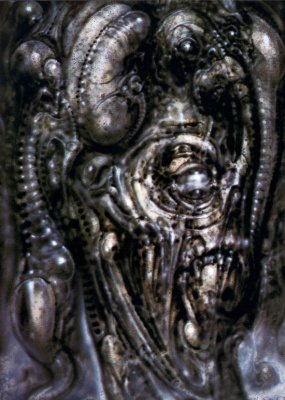 Hans Rudolph Giger. Lovecraft and his pets