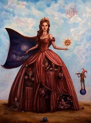 Marina Eduardovna Kovaleva. Eternal life masquerade