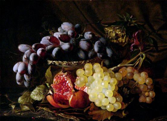Теуд Гронланд. Натюрморт с фруктами