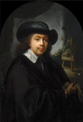 Gerrit (Gerard) Dow. Self-portrait