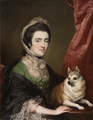 George Romney. Portrait of Mrs. Anne Dashwood