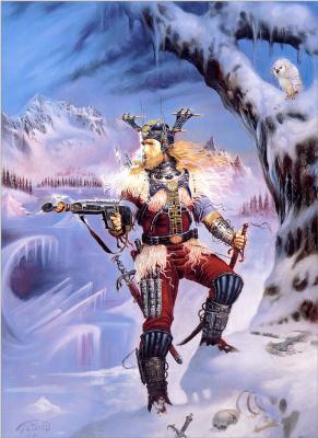Джеан Пиерр Таргет. Зима