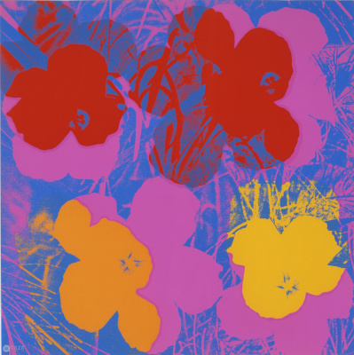 Andy Warhol. Flowers