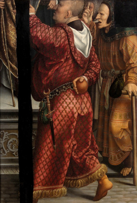 Bernart Van Orley. Circumcision of Christ (Verso)