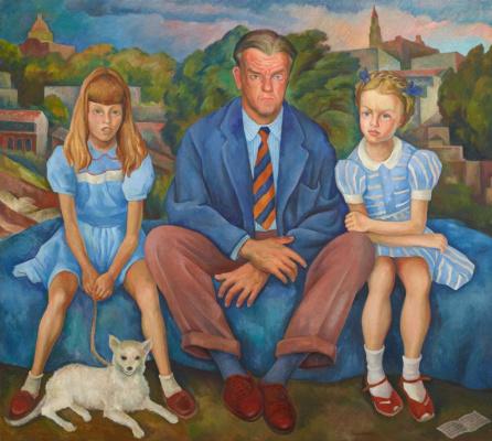 Diego Maria Rivera. Portrait of the Knight family