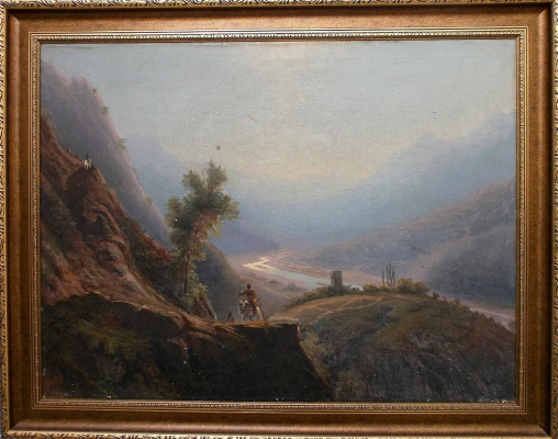 Копия Лагорио. В кавказских горах
