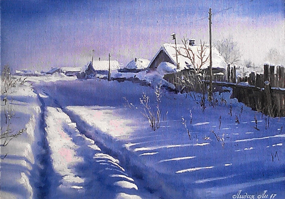Lydia Lee. Winter Winter (triptych)