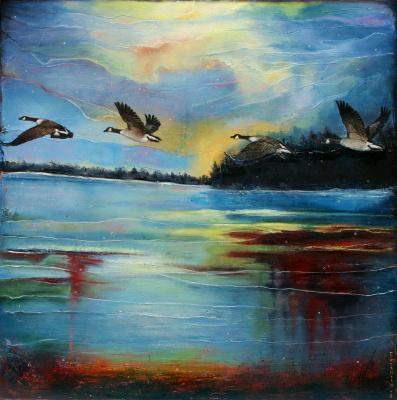 Natalia Bagatskaya. And the Ducks are already Flying Far...