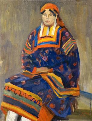 Крестьянка из Тамбовской губернии
